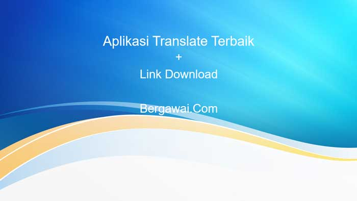 aplikasi translate
